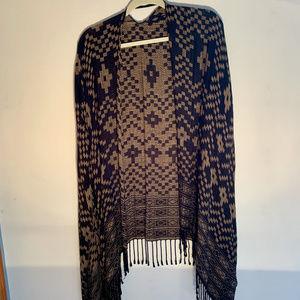 Reversible Bohemian/Aztec Kimono